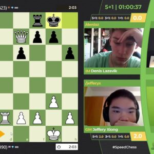 Xiong vs Lazavik  | Junior SCC hosted by NM Canty and FM Klein