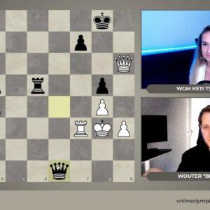 "FIDE Online Olympiad | Division 3 Day 2 | Hosts: Wouter ""Bikfoot"" Bik and WGM Keti Tsatsalashvili"