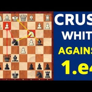 An Aggressive Opening For Black Against e4 | Traps to win FAST