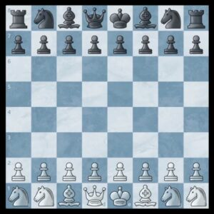 An Exhilarating Game of Normal Chess