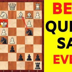 Best Queen Sacrifice Ever? | Soviet Chess Brilliancy