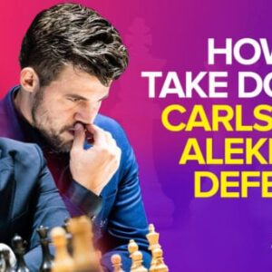 carlsen versus nepo dont wait wreck the champs alekhines defense now