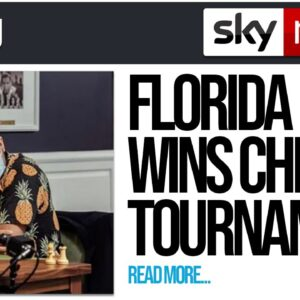 Florida Man WINS Chess Tournament!!