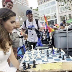 I Played Chess Hustlers in Union Square Park
