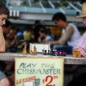 I used to be a 10-year-old Chess Hustler