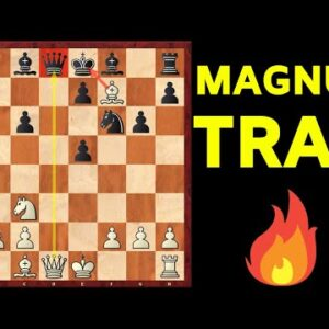 MAGNUS TRAP #1! Crushing the Sicilian Defense