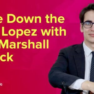 marshall gambit the best way to attack the ruy lopez