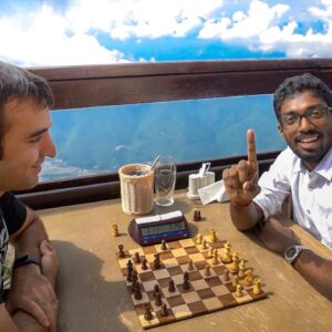 Top Indian Grandmaster Invents a Counter-Gambit to my Stafford Gambit