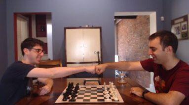Top Secret OTB Blitz Match vs. IM Rosen - Game 1