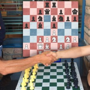 Two Players Premove a 20 Move Opening IRL