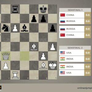 FIDE Online Olympiad | Anand, Grischuk, Liren Semifinals | Hosts: WGM Keti Tsatsalashvili and WGM...