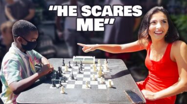 10-Year-Old Chess Prodigy Tries To Embarrass Me