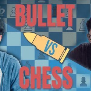 4-Game Bullet Match vs. Samay Raina (30 seconds vs. 1 minute)