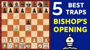 5 Best Chess Opening Traps in the Bishop's Opening