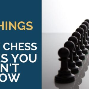 5 things about chess pieces you didnt know
