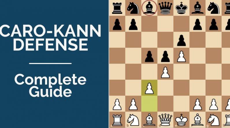 caro kann defense complete opening guide