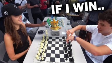 Chess Master Attempts To Get My Number