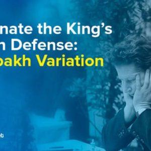 dominate the kings indian defense averbakh variation
