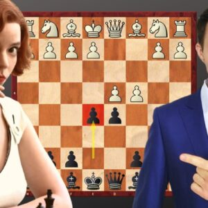 4 Best Chess Opening Traps Against The Queen's Gambit (The Albin + Refutation)