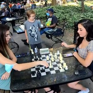 High Stakes Chess Match Versus My Sister