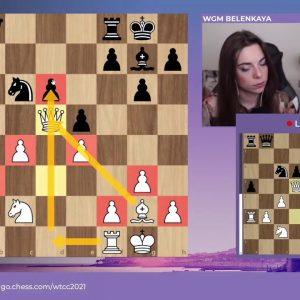 Krush and Belenkaya host Women's Team Chess Championship Round 4