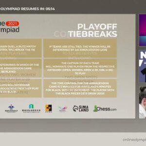 FIDE Online Olympiad | TOP Division Day 2 | Hosts: WGM Keti Tsatsalashvili and WGM Dina Belenkaya