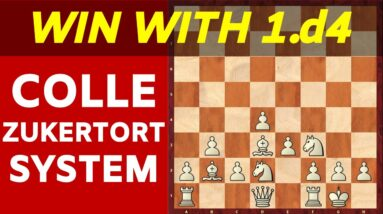 Queen's Pawn Game: 2 EASY CHECKMATES