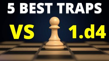 5 Best Chess Opening Traps For Black Against 1.d4