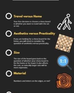 how to choose a chess board a step by step guide