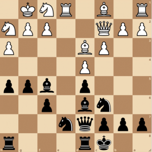 opposite side castling in the french defense exchange variation wim camelia ciobanu ichess club