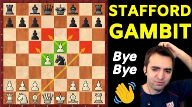 Stafford Gambit Refuted! [Deadly TRAPS & TRICKS you must know]