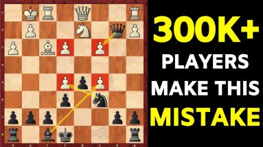 The ERROR of 70% of chess players after 1.e4