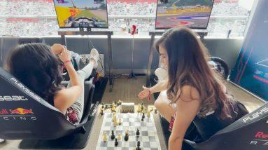 We Played Chess While Racing At Formula 1